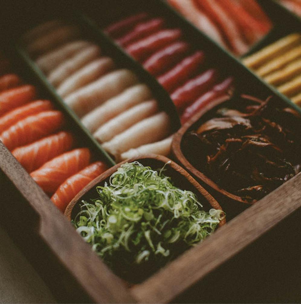 Sushi Bar for Wedding Receptions in Minnesota