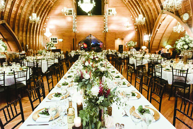 Green Acres Event Center, a barn wedding venue in Minnesota.
