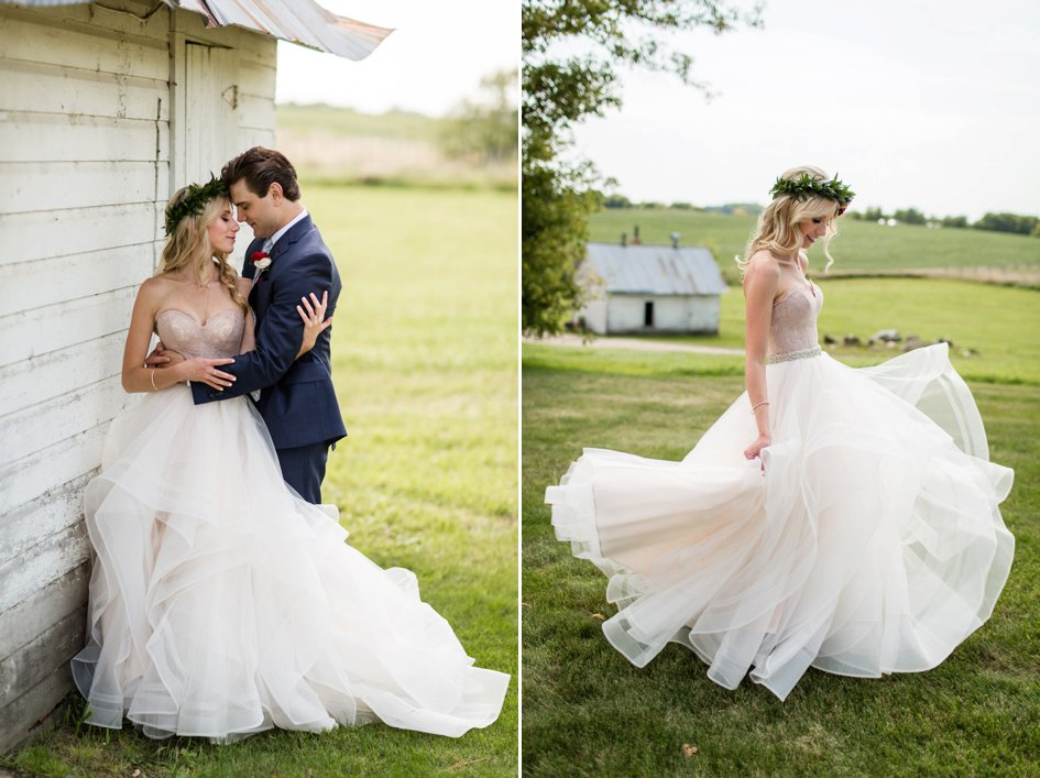 Rustic-Meets-Glam Farm Wedding in Cokato | Minnesota Bride