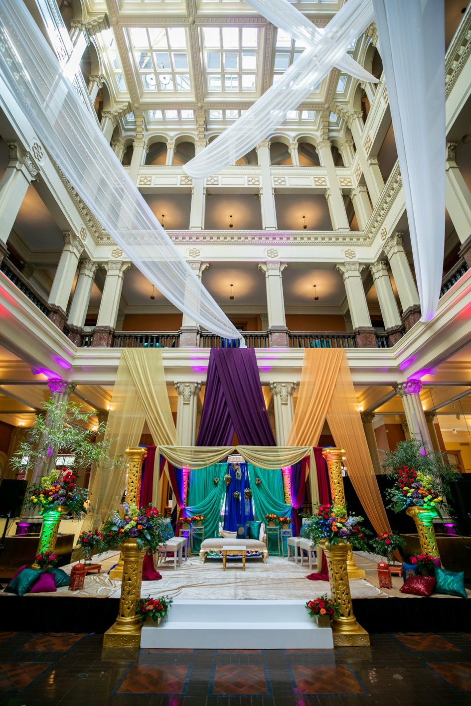 Two-Day Wedding Celebration at The Landmark Center & A'bulae | Minnesota Bride