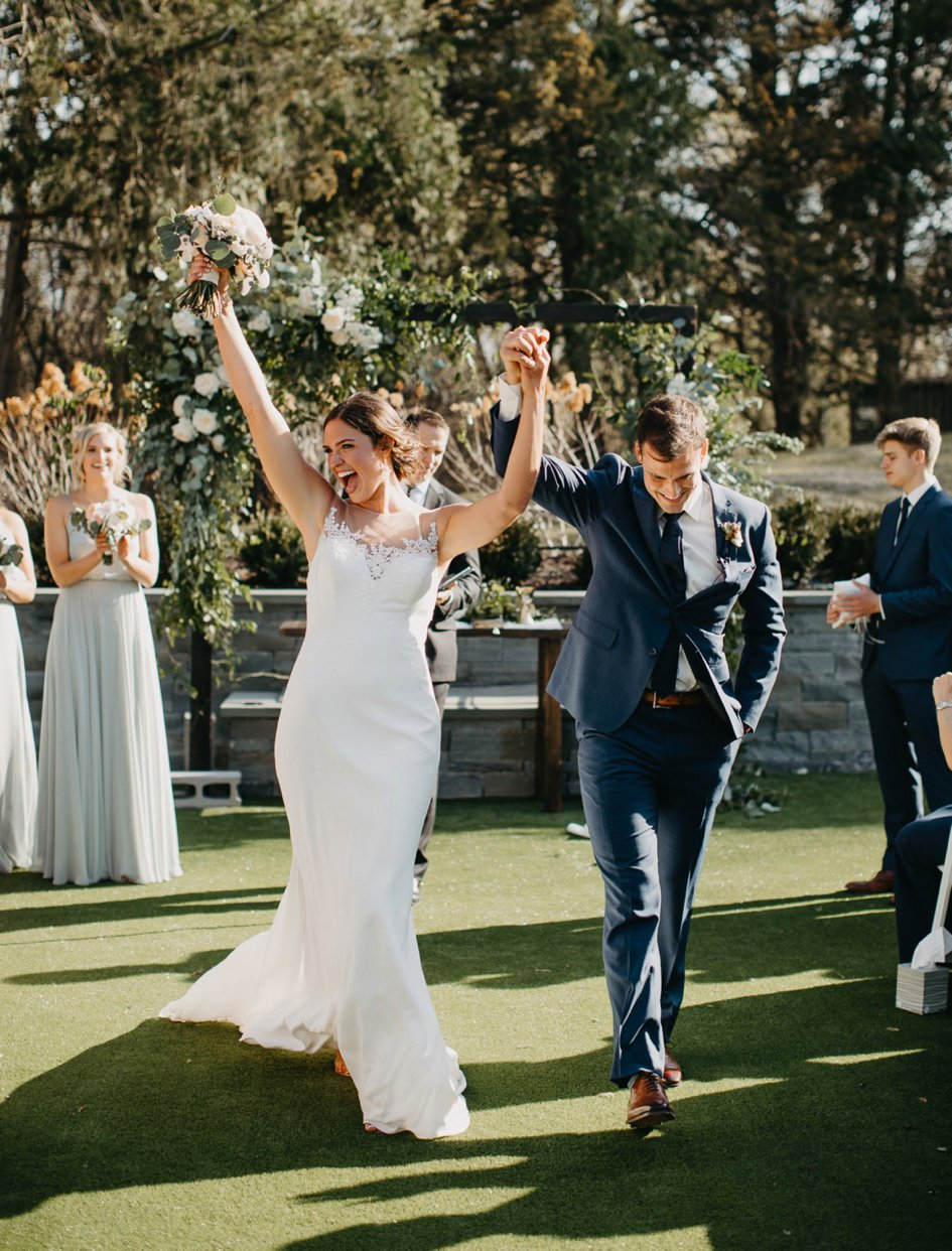 Volleyball Star Sarah Wilhite Weds Jameson Parsons at Hutton House | Minnesota Bride