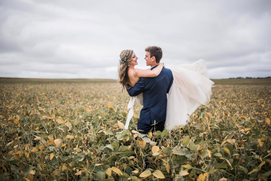 Ethereal Wedding at a Minnesota Family Farm
