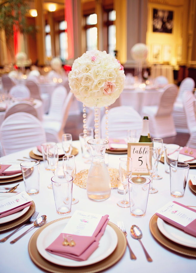 Going Tall: Stunning Centerpieces