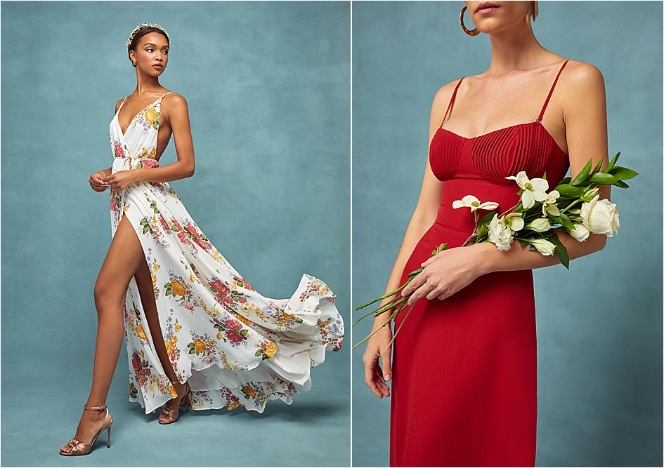 Reformation bridesmaid dresses for the modern bridal party.
