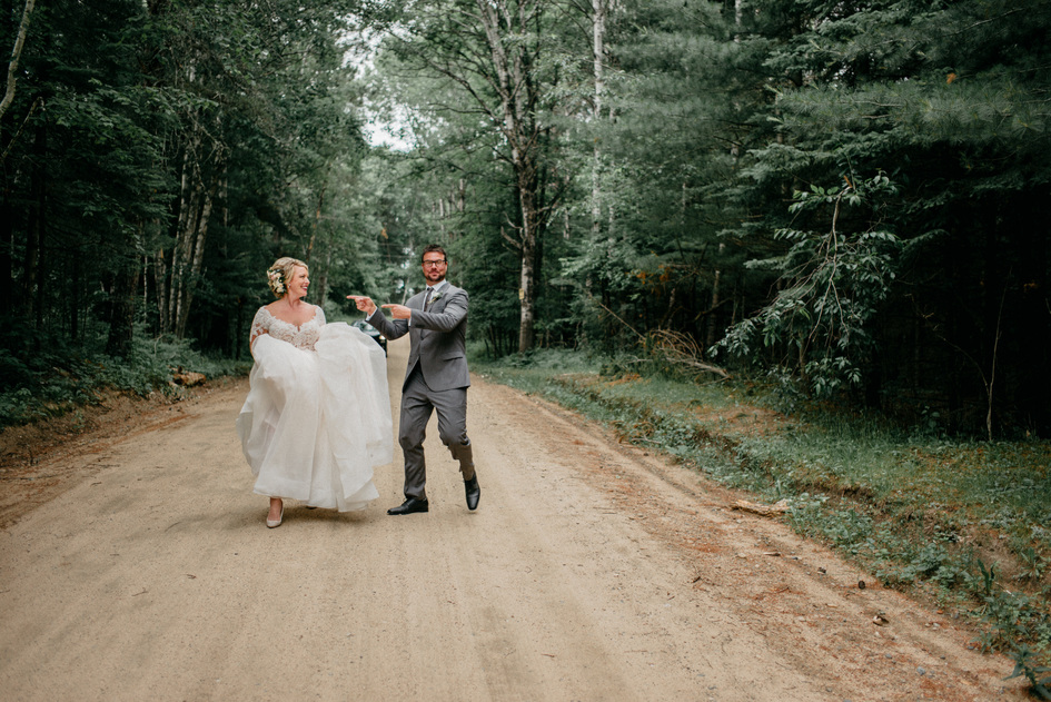 Northern Minnesota Destination Wedding on Lake Wabedo