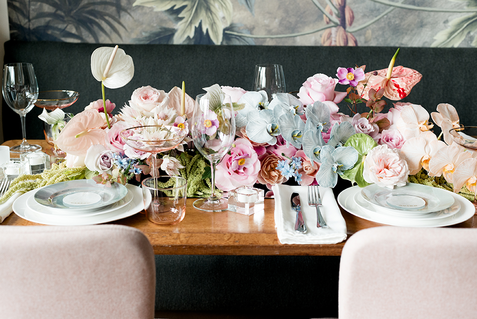 Wedding Floral Inspiration at Grand Cafe in Minneapolis
