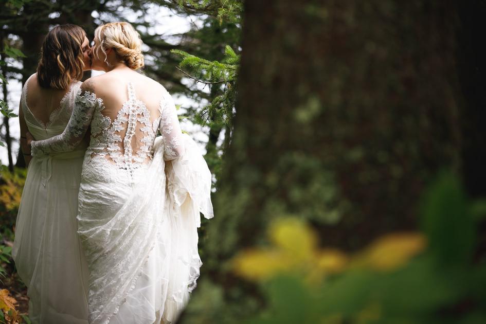 Wedding Day in Lutsen, Minnesota