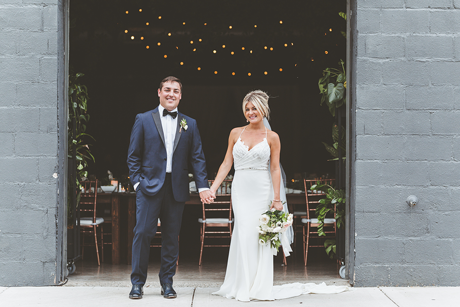 Wedding Couple at Paikka, Minnesota