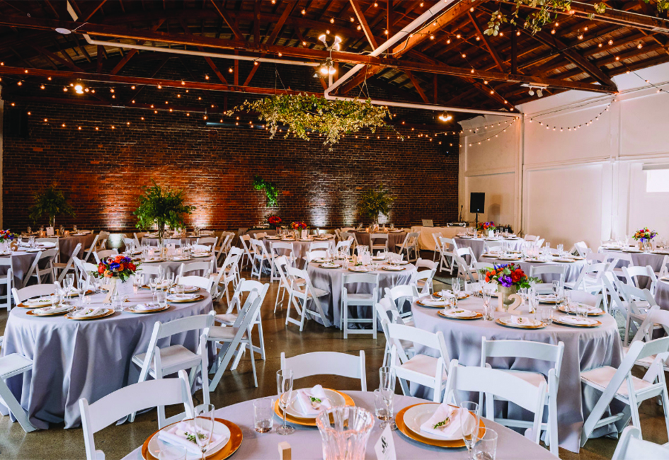 The main studio of The Neu Neu, a new wedding venue in the North Loop neighborhood of Minneapolis