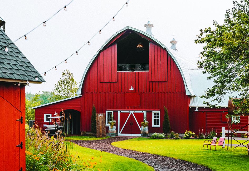 Redeemed Farm, a barn wedding venue in Minnesota.