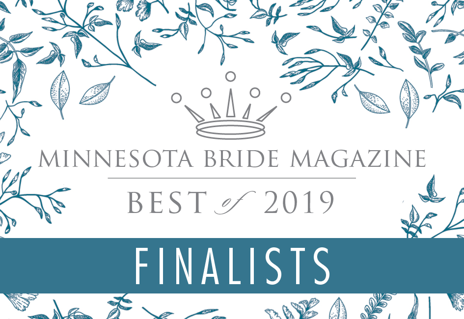 MINNESOTA BRIDE'S BEST OF 2019 - THE FINALISTS