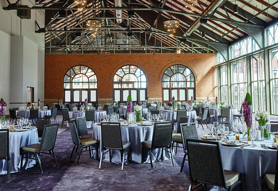 The Great Northern Ballroom, part of the 20,000 square foot expansion at Minneapolis wedding venue The Depot.
