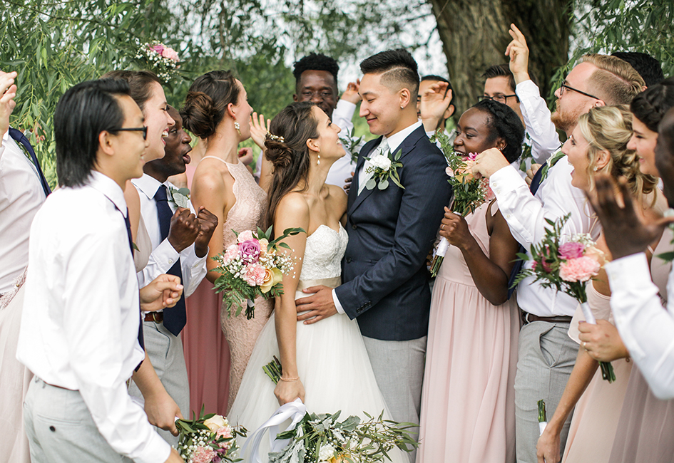 Minnesota Outdoor Wedding at Berry Hill Farm