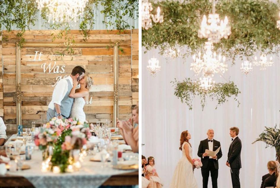 Vibrant Hanging Greenery for Your Wedding Decor | Minnesota Bride