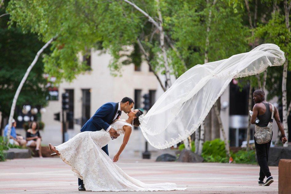 Two-Day Wedding Celebration at The Landmark Center & A'bulae   Minnesota Bride
