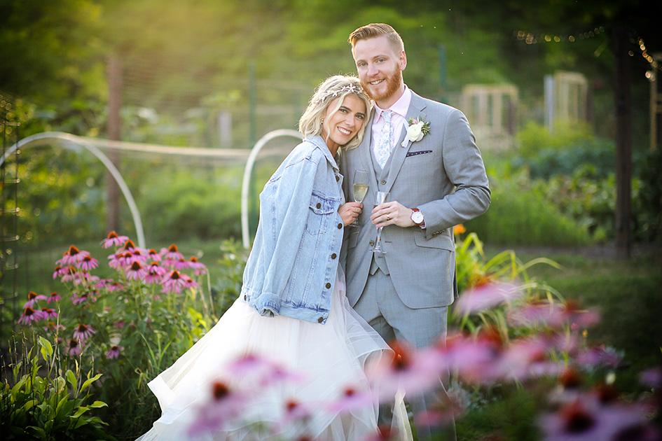 Catherine and John wed at Glensheen Historic Estate