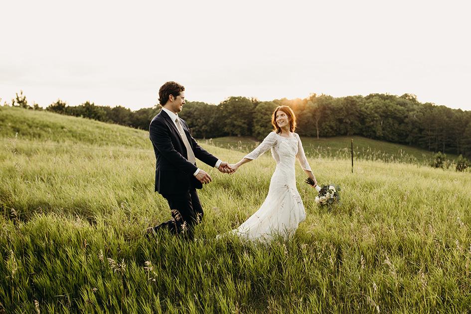 Melissa and Jacob's wedding at The Barn at Five Lakes