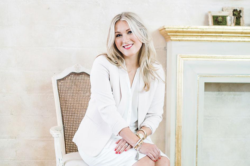 Editor-in-Chief of Minnesota Bride magazine, Sarah Baumann Rogers.