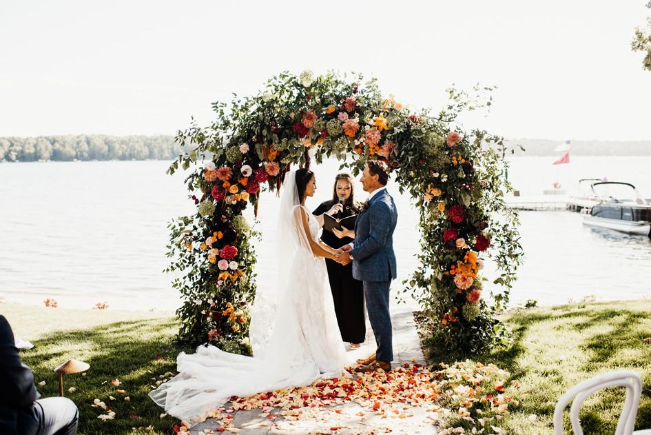 wedding ceremony minnesota