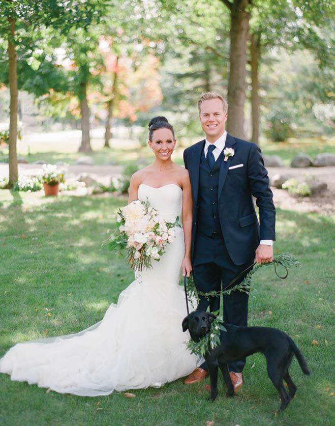 Romantic Detroit Lakes Wedding Minnesota Bride