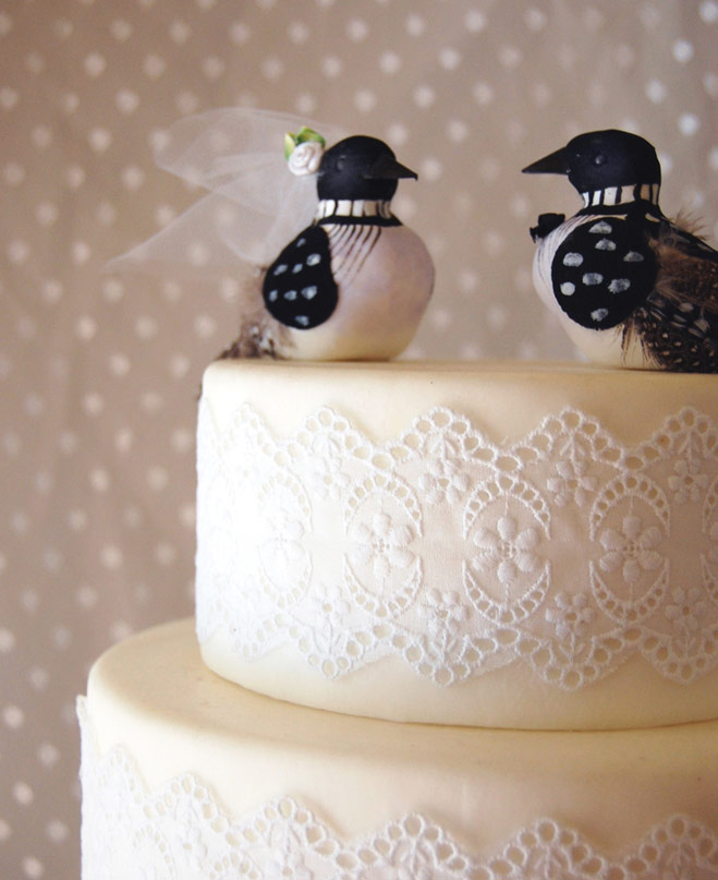 Love Birds: Locally Made Wedding Cake Toppers | Minnesota Bride