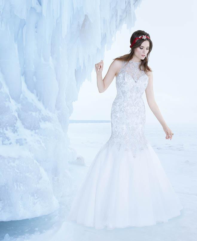 Northern Bound: 7 Dreamy Winter Wedding Dresses   Minnesota Bride