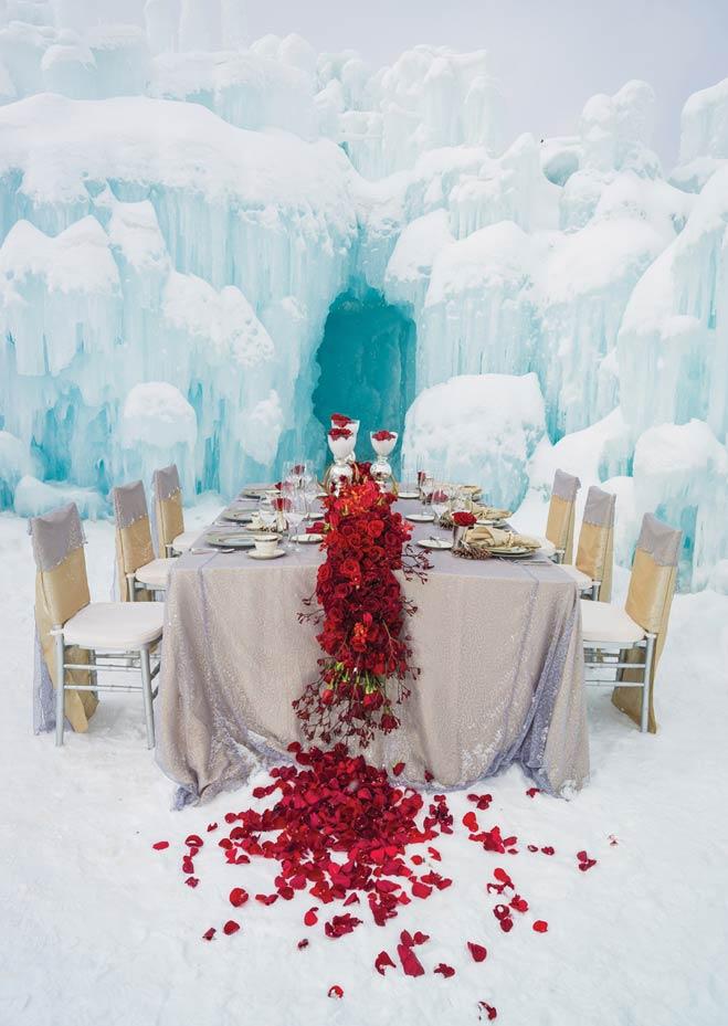 Snow Day Winter Wedding Inspiration Minnesota Bride