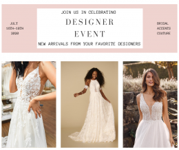 Bridal Accents Couture Designer Event