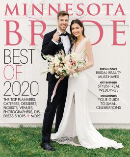 Minnesota Bride 2020 fall/winter cover