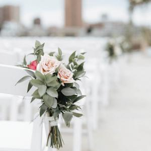 Wedding Ceremony Flowers at A'bulae in Minnesota