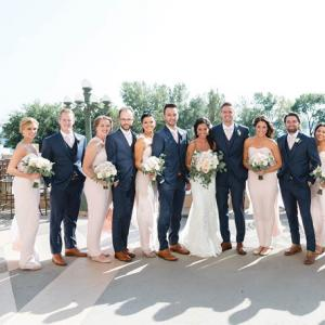 Bridal Party at the Calhoun Beach Club Minneapolis