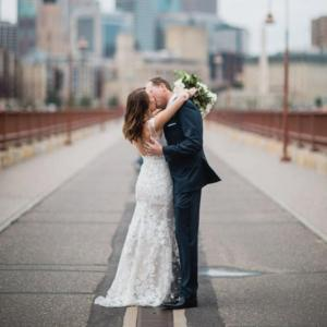White Orchid Wedding at The Basilica | Minnesota Bride