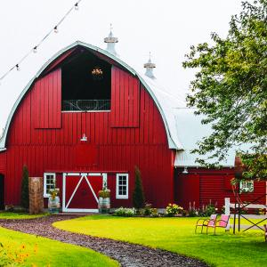 Redeemed Farm, a barn wedding venue in Minnesota.