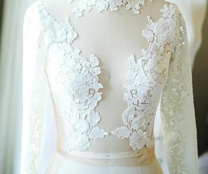 One of linyage's bridal separates.