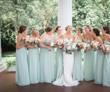 In Full Bloom: 5 Floral Bridesmaids Looks for Summer   Minnesota Bride