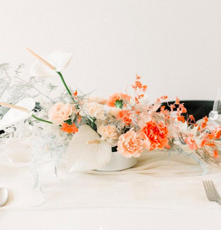 Adding Bold Hues to Your Wedding Day Decor