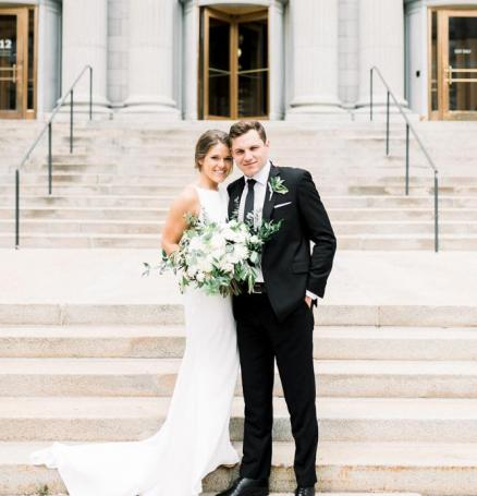 Cat and Jake wed at Machine Shop