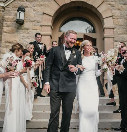Molly and Daniel wed lakeside on family property