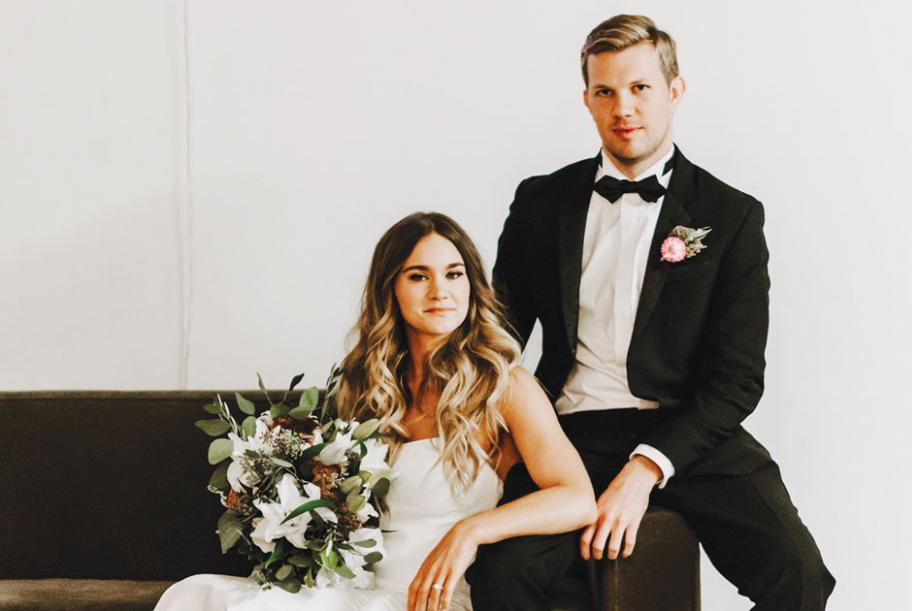 The couple lounging at PAIKKA, captured by Gilded Sparrow Photography