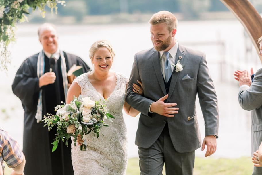 Homestead Wedding With Elegant Florals and Clean Rustic Touches