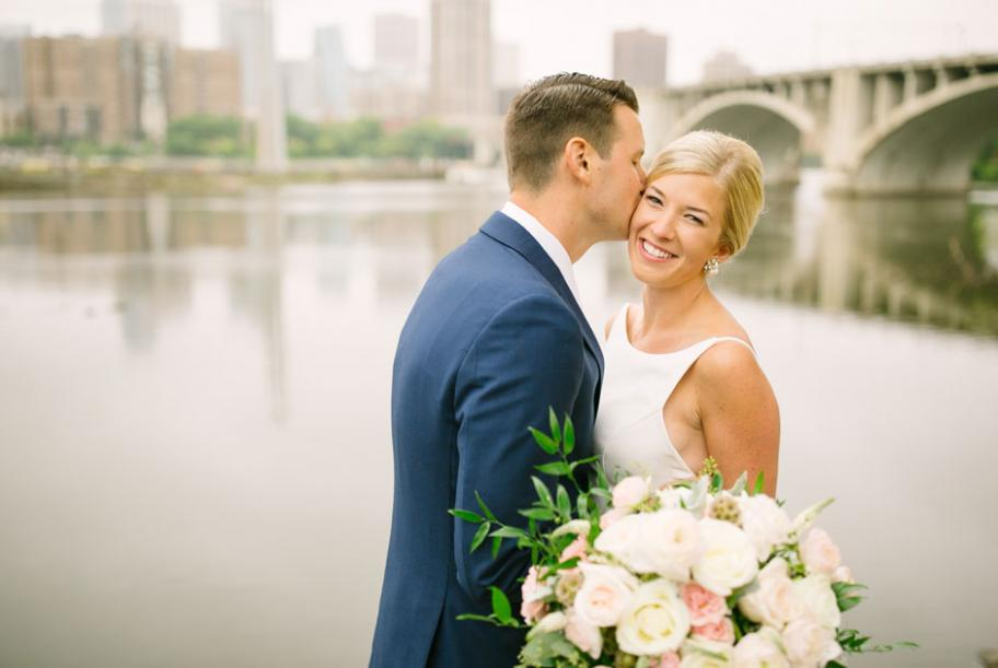 Alexandra and John let their personalities shine on their big day in Minneapolis