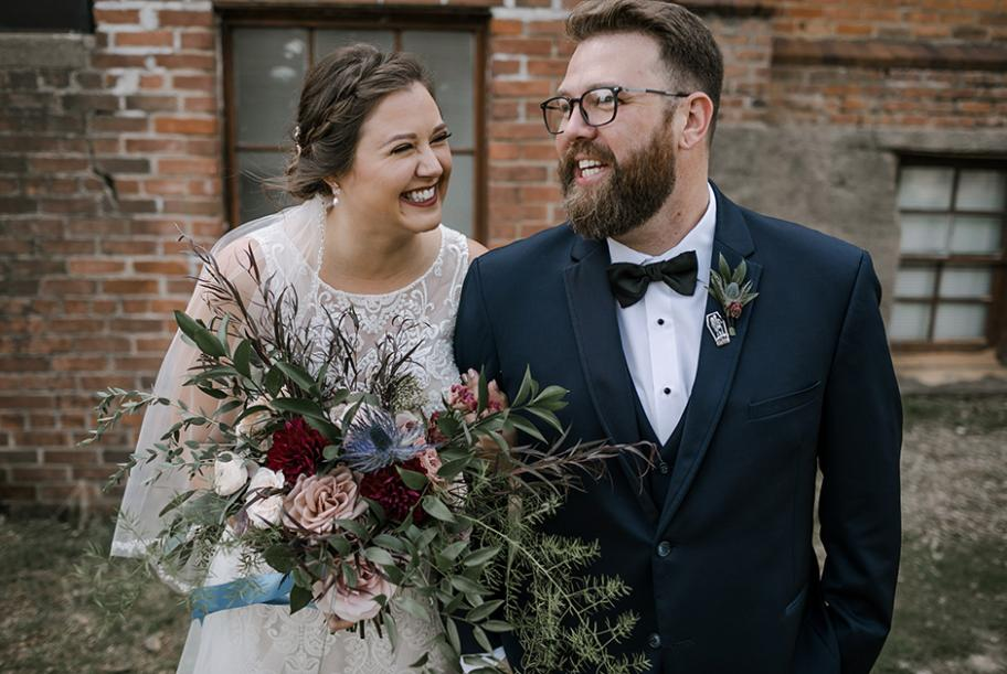 Kate and Matt's vintage wedding at The Capitol Room