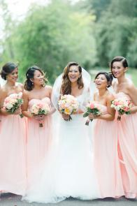 Pink Bridal Party in Minnesota