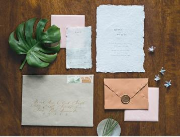 Wedding Stationery Inspiration at Grand Cafe in Minneapolis