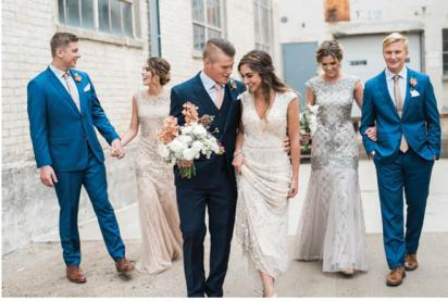 Bridal Party Inspiration in Minnesota