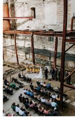 Wedding Ceremony at the Mill City Museum