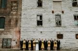 Wedding party at the Mill City Museum