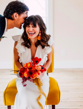 The Best Orange and Yellow Wedding Bouquets | Minnesota Bride
