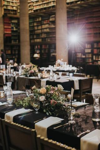 Wedding Reception at the James J. Hill Library in Minnesota