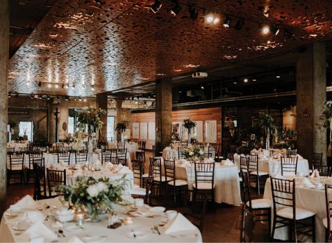 Wedding Reception at the Mill City Museum
